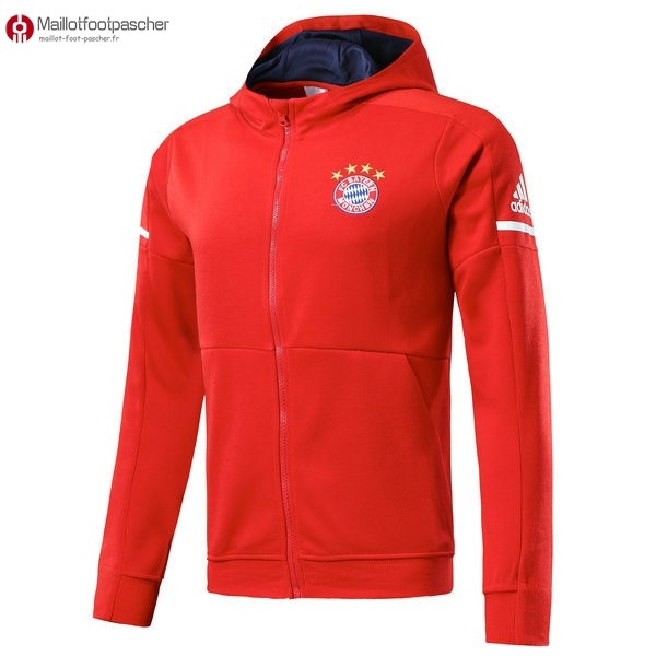 Sweat Shirt Capuche Bayern de Munich Enfant 2017/2018 Rouge