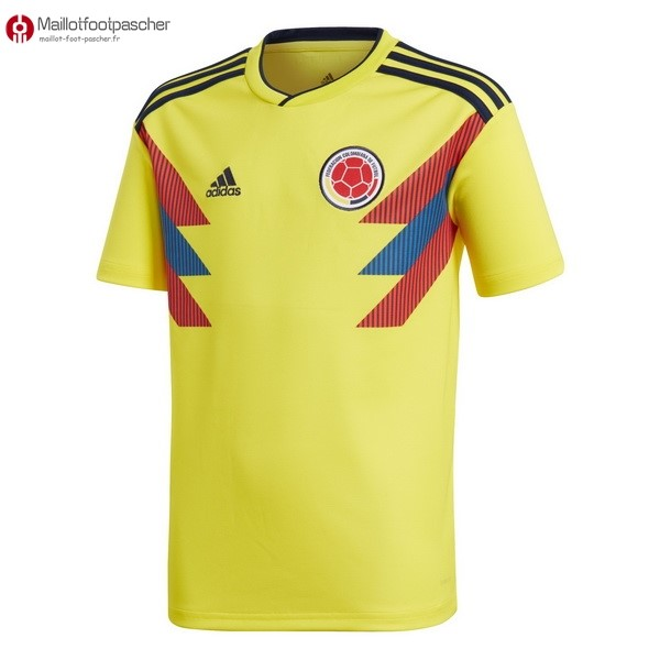 Maillot Foot Pas Cher Columbia Domicile 2018