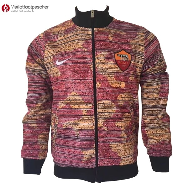 Veste Foot Pas Cher AS Roma 2017/2018 Rose