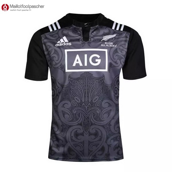 Maillot Rugby Pas Cher All Blacks Maori 16/17