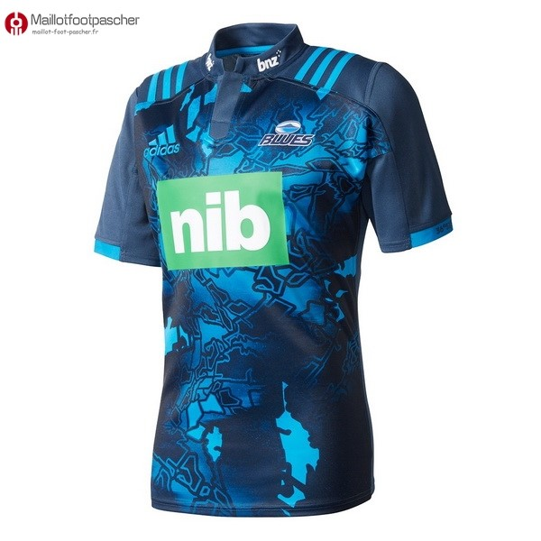 Maillot Rugby Pas Cher Blues 2017/2018 Bleu