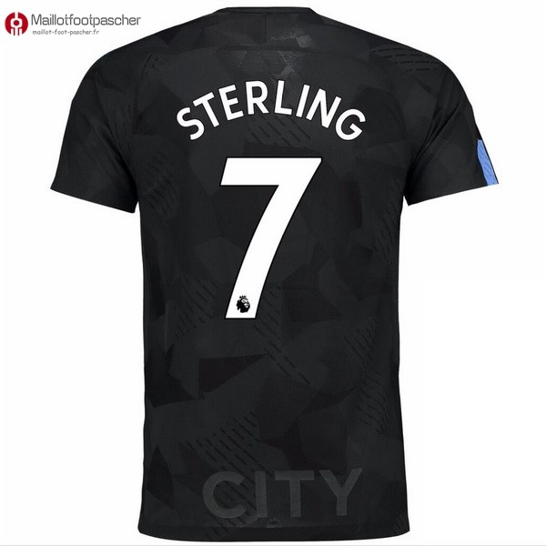 Maillot Foot Pas Cher Manchester City Third Sterling 2017/2018