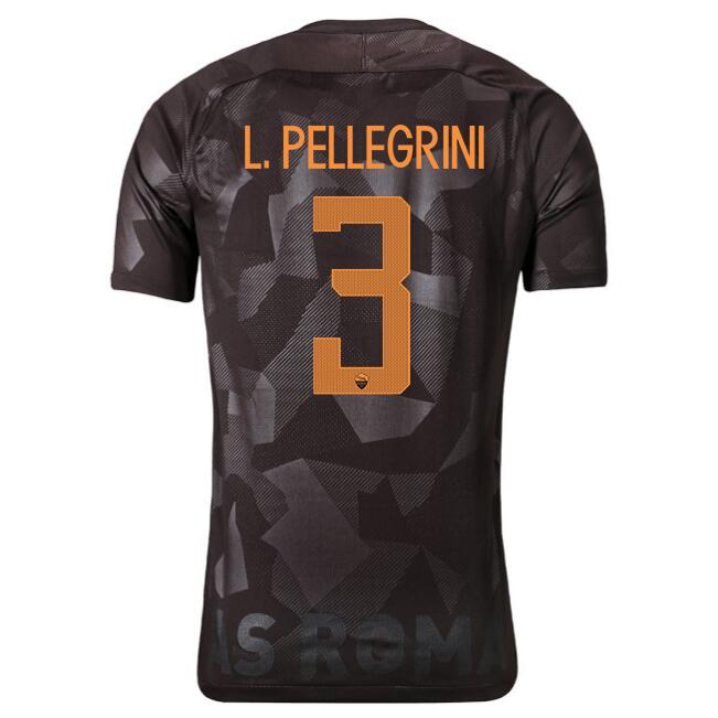 Maillot Foot Pas Cher AS Roma Domicile Jesus 2017/2018
