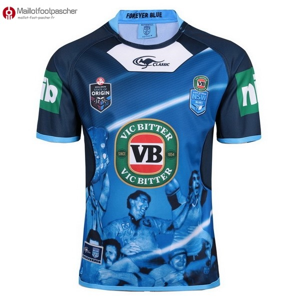 Maillot Rugby Pas Cher NSW Blues 2017/2018 Bleu
