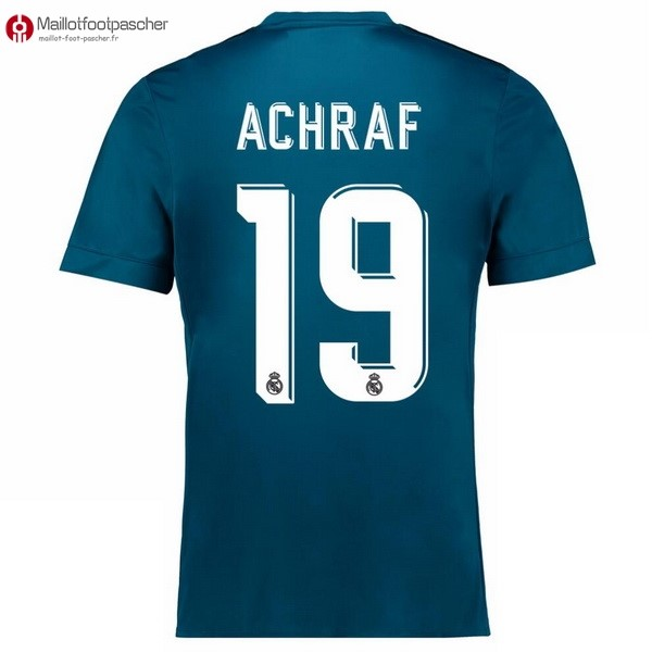 Maillot Foot Pas Cher Real Madrid Third Achraf 2017/2018