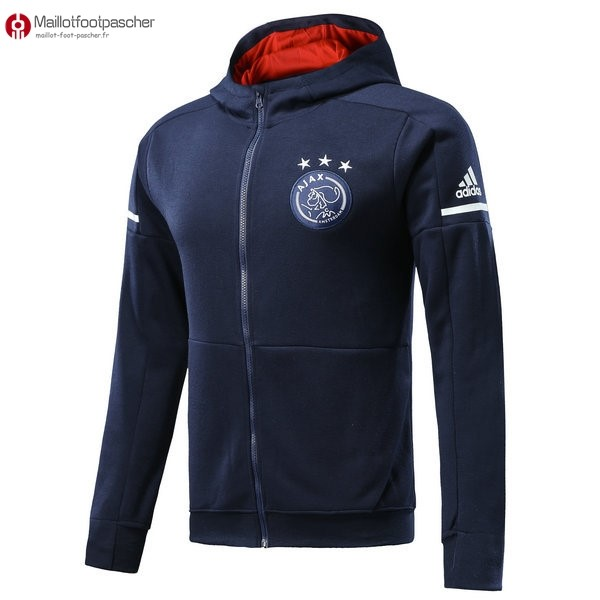 Sweat Shirt Capuche Ajax Enfant 2017/2018 Bleu