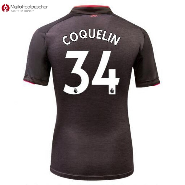 Maillot Foot Pas Cher Arsenal Third Coquelin 2017/2018