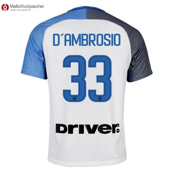Maillot Foot Pas Cher Inter Exterieur D'Ambrosio 2017/2018