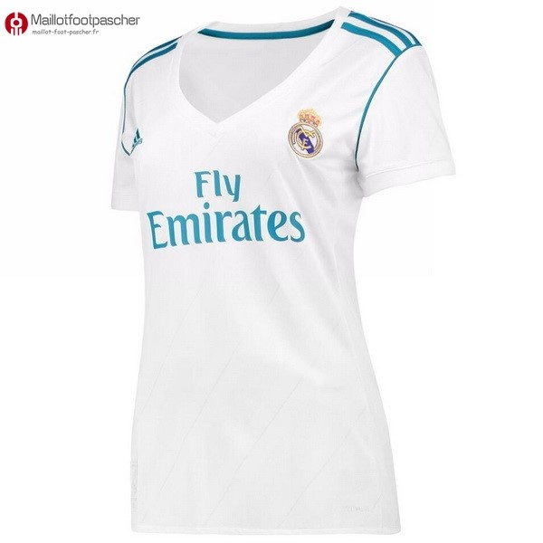 Maillot Foot Pas Cher Real Madrid Femme Domicile 2017/2018