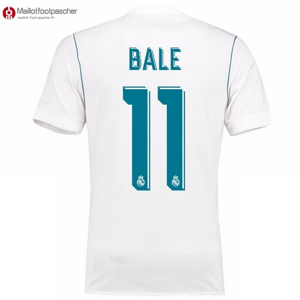 Maillot Foot Pas Cher Real Madrid Domicile Bale 2017/2018
