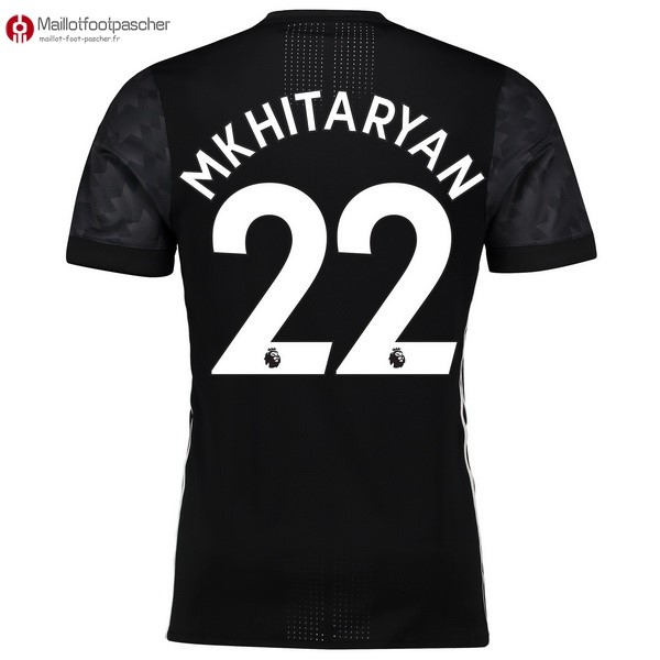 Maillot Foot Pas Cher Manchester United Exterieur Mkhitaryan 2017/2018