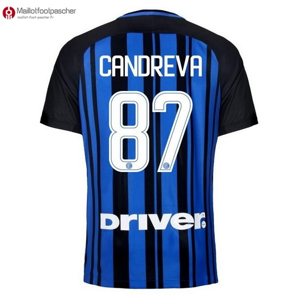 Maillot Foot Pas Cher Inter Domicile Candreva 2017/2018