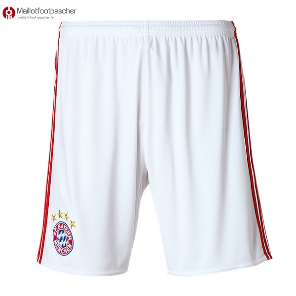 Pantalon Foot Pas Cher Bayern Munich Third 2017/2018 Blanc