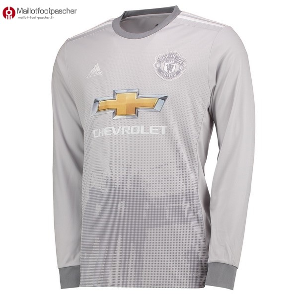 Maillot Foot Pas Cher Manchester United Third ML 2017/2018