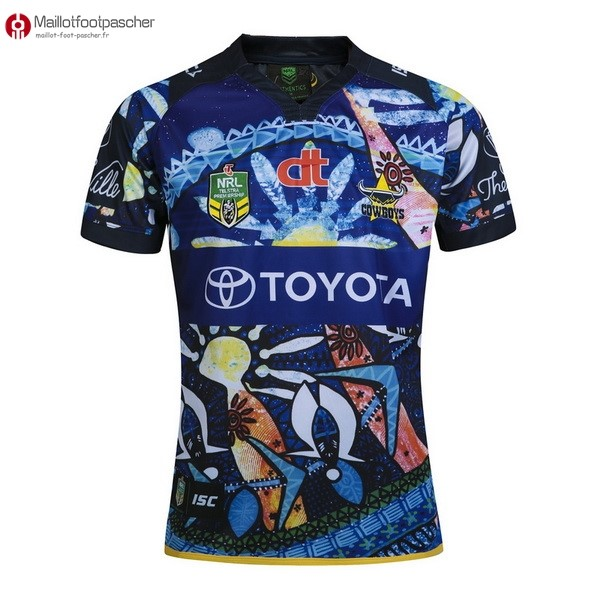 Maillot Rugby Pas Cher Cowboys 2016 Bleu
